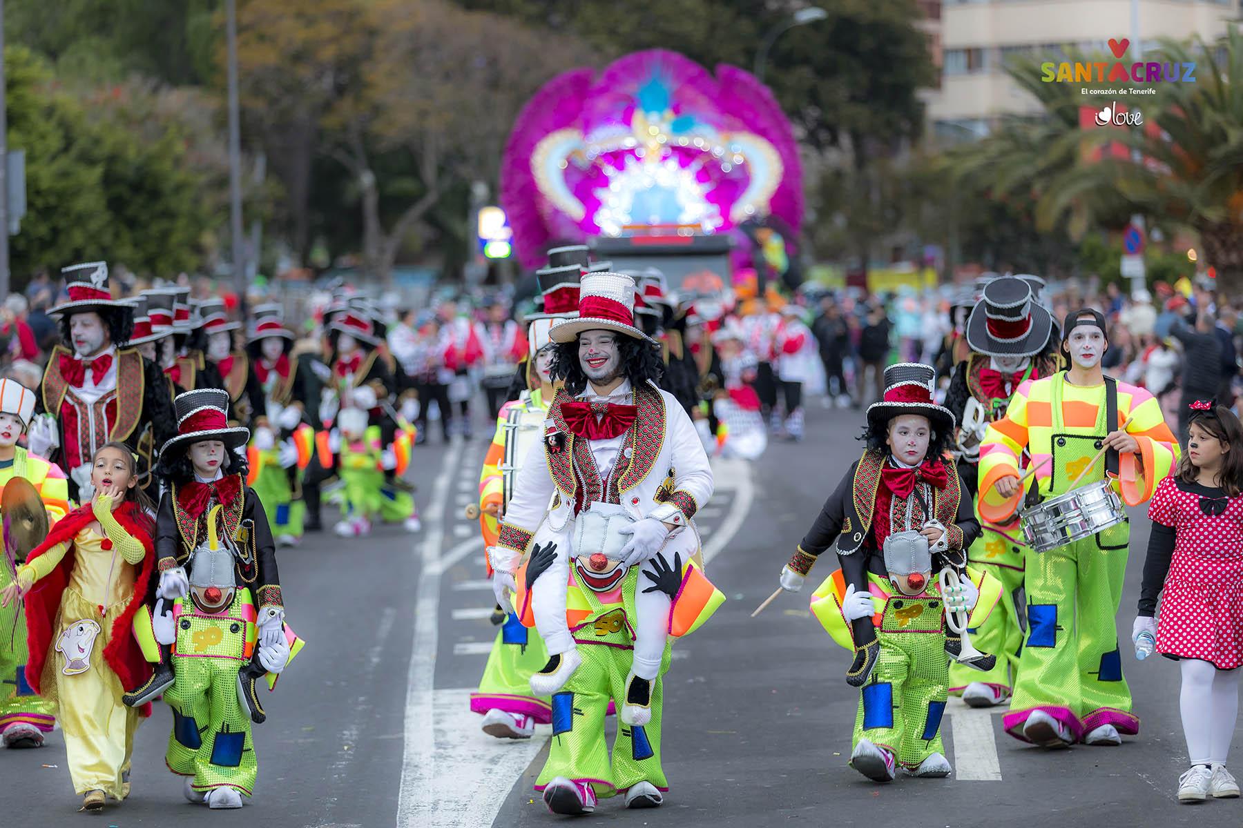 Resultado de imagen de carnaval tenerife grupos