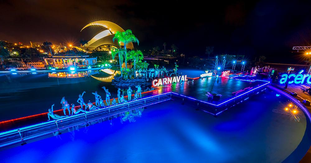 Resultado de imagen de parque marítimo  carnaval santa cruz